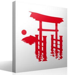 La entrada de un lugar relacionado con Japón