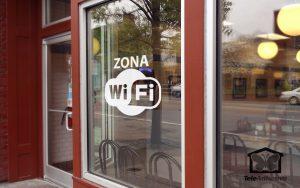 Una zona wifi