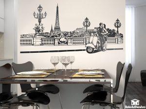 vinilos-decorativos-escena-romantica-en-paris