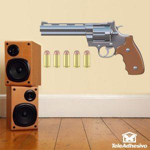 vinilos-infantiles-revolver-y-5-balas
