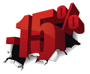 Descuento Del 15% En Vinilo
