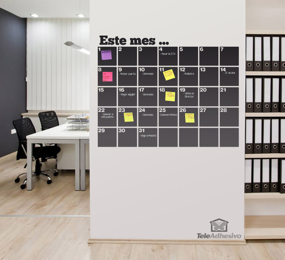 vinilos-decorativos-pizarra-calendario-organizador