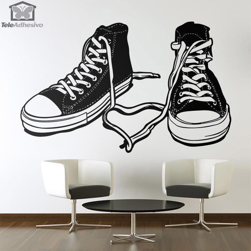 vinilos-decorativos-botas-deportivas
