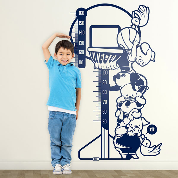 Medidor pared infantil