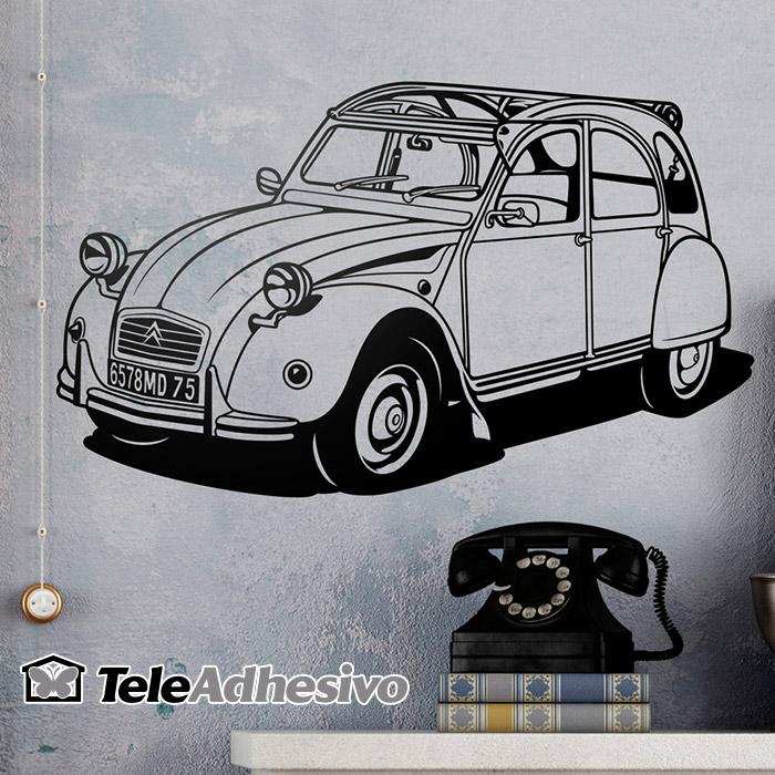Vinilo Citroën 2 Caballos