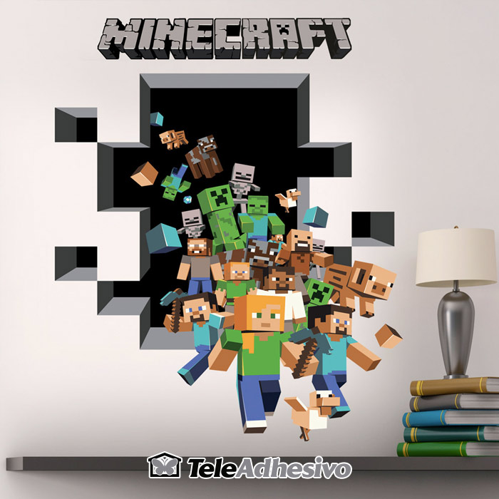 Vinilo Minecraft
