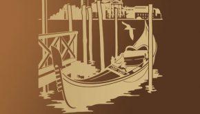 vinilos-decorativos-gondola-en-venecia