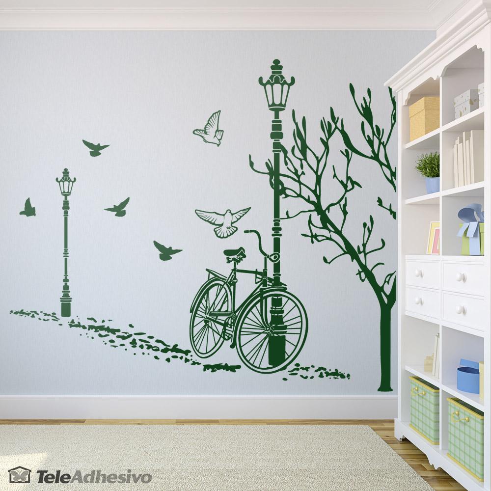 Vinilo decorativo oto o en bicicleta blog teleadhesivo for Adhesivos para decorar