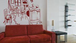 El dormitorio en Arlés.