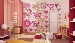 Decoraciones rosadas
