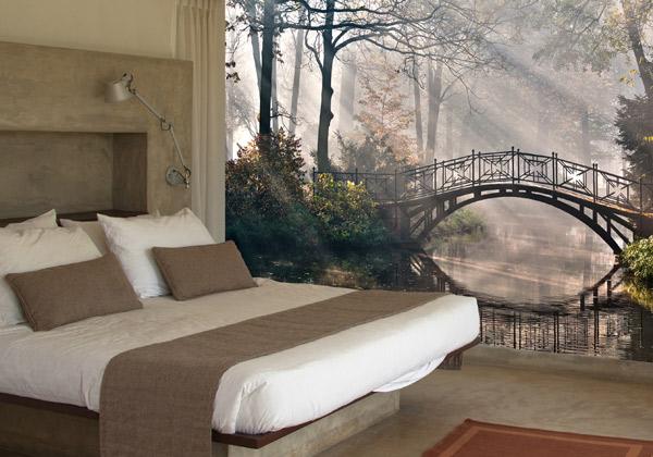 Mural vinilo con vistas a un espacio abierto blog for Vinilos dormitorio matrimonio