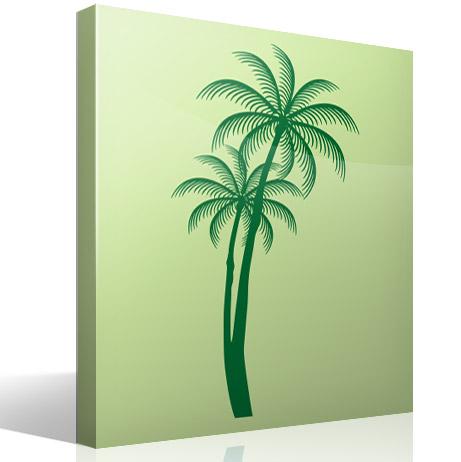 Las palmeras se asocian a playa blog teleadhesivo - Vinilos decorativos las palmas ...