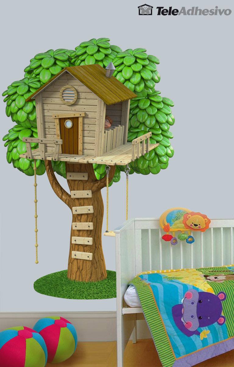 Una casita en un rbol blog teleadhesivo - Casas para arboles ...