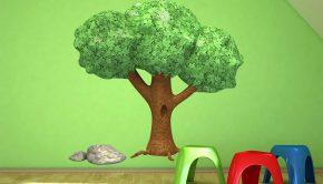 Nuestro árbol vinilo no te dará mucha sombra