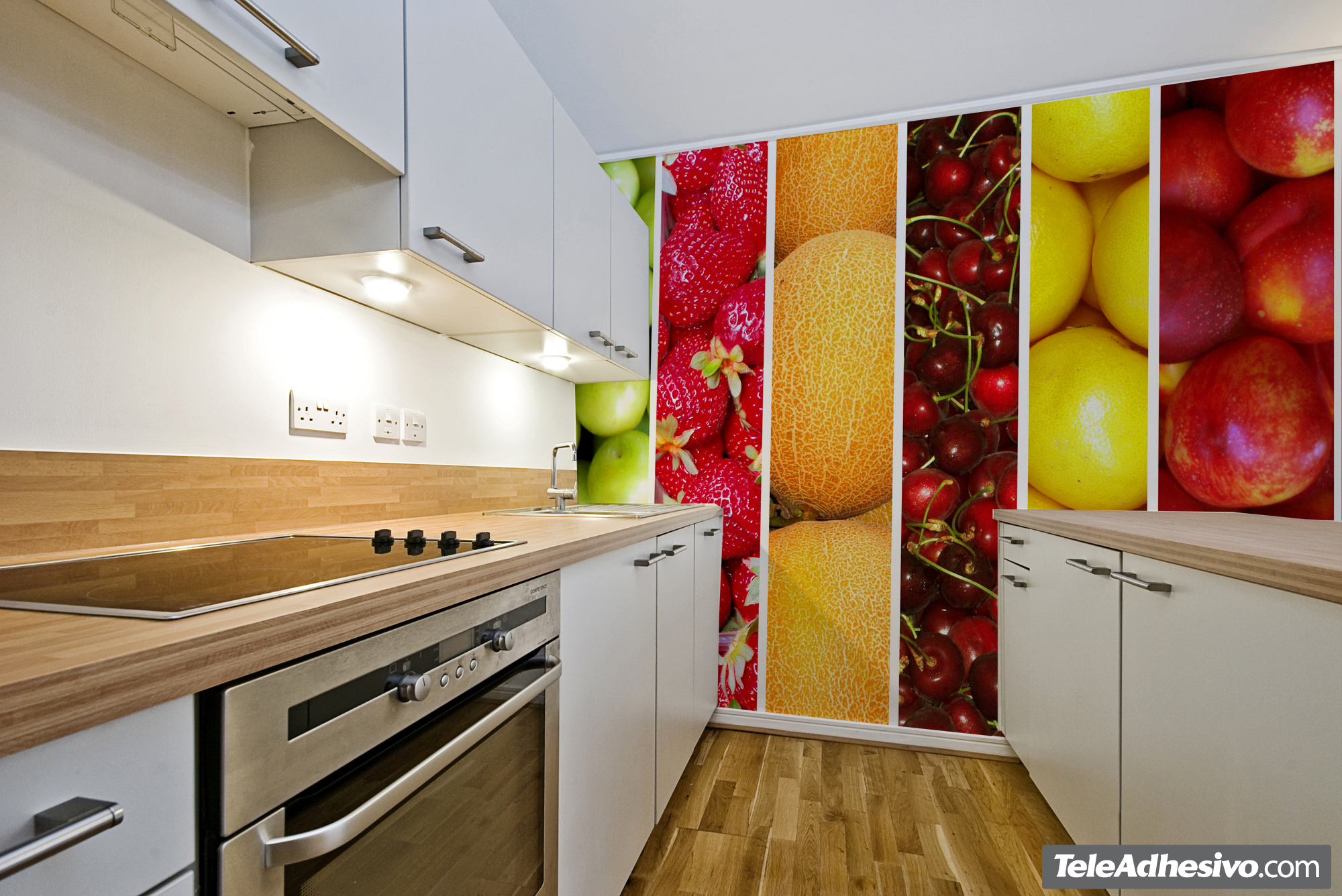 Fruta fresca en tu bar o tienda - Fotomural para cocina ...