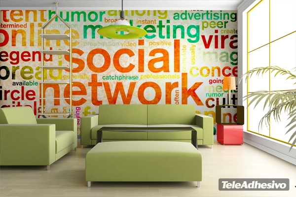 Decoraci n para una cibercaf blog teleadhesivo - Ideas para decorar tu negocio ...