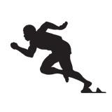 vinilos-decorativos-atleta-100-metros