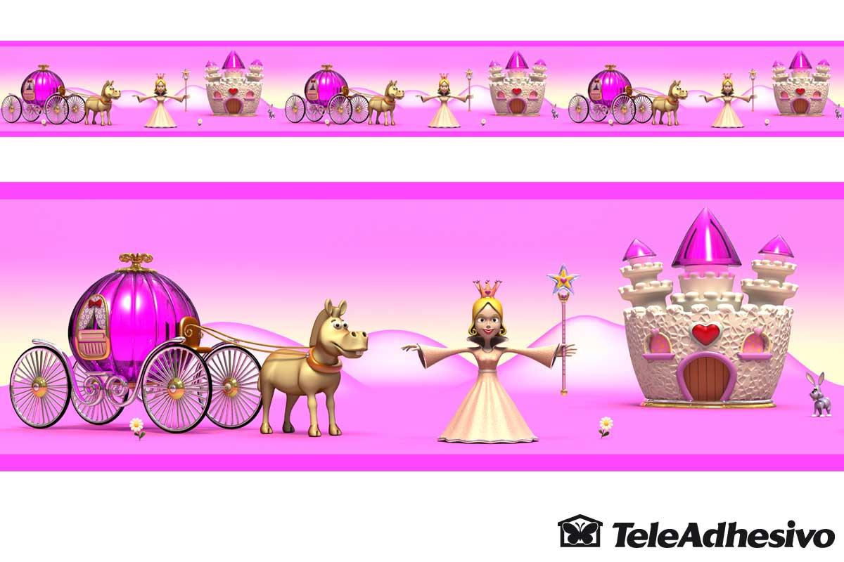 vinilos-infantiles-cenefa-princesas-