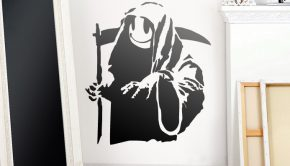 vinilos-decorativos-banksy-happy-grim-reaper-