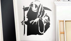 vinilos-decorativos-banksy-happy-grim-reaper-