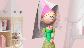 vinilos-infantiles-la-princesa-del-castillo