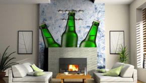 fotomurales-3-botellas-verdes