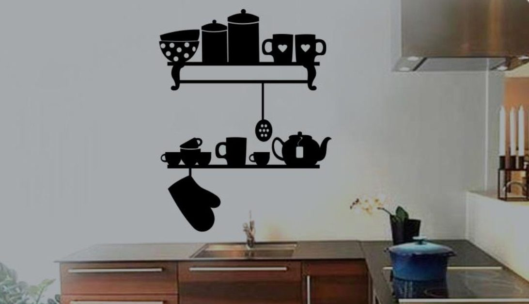 Vinilos para cocina for Stickers de pared