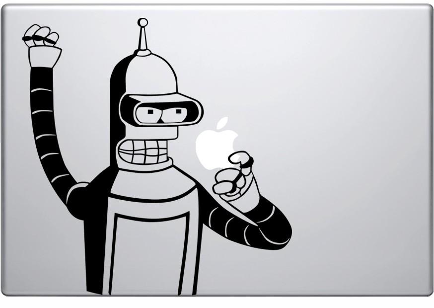 Pegatinas de vinilo para macbook y laptop for Disenos de vinilos