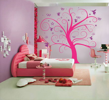 Vinilos para dormitorios juveniles - Paredes de habitaciones ...