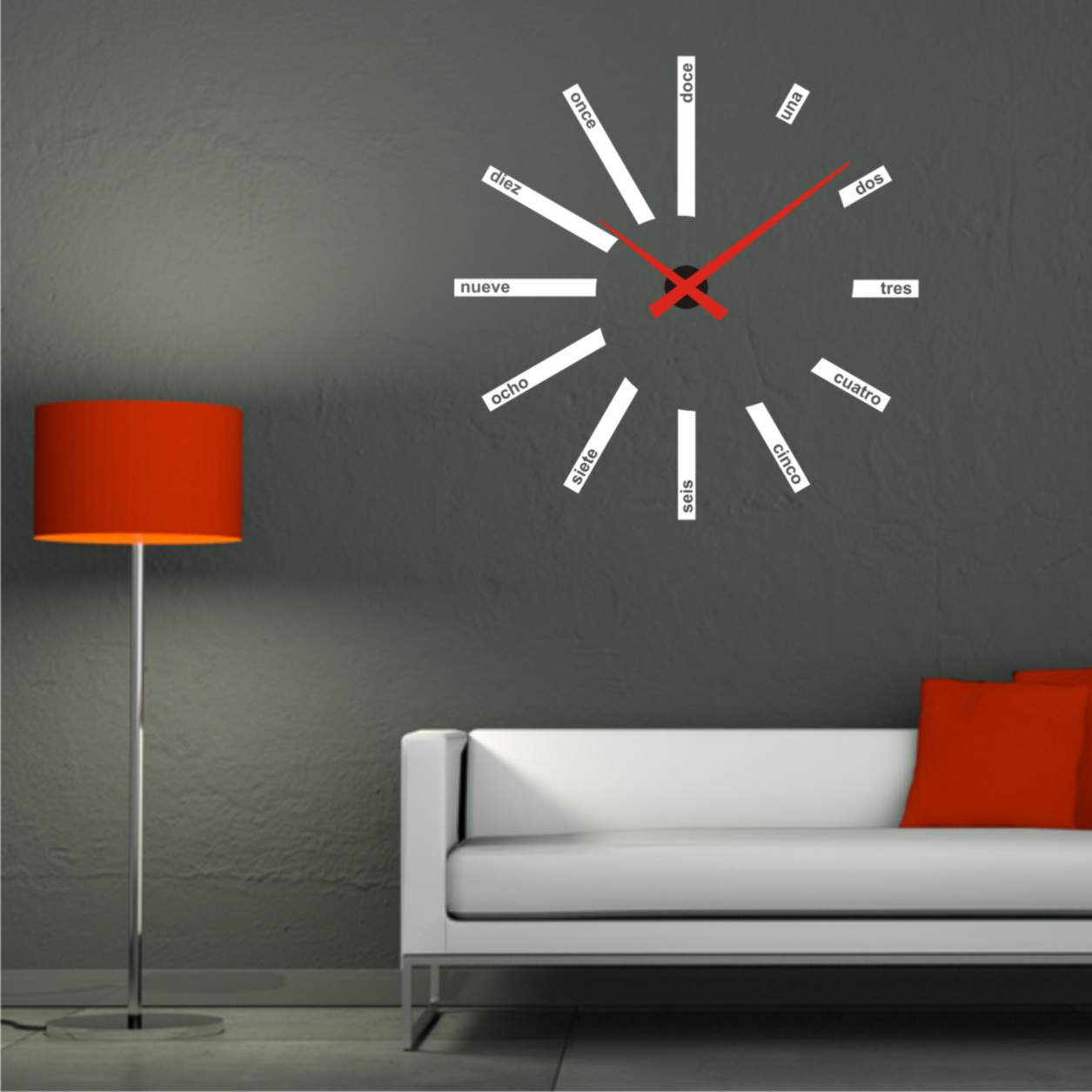 Relojes en vinilo - Reloj de pared de diseno ...