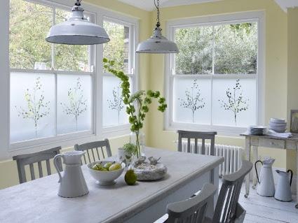 Vinilos para cristal en casa y oficina - Vinilos ikea cocina ...