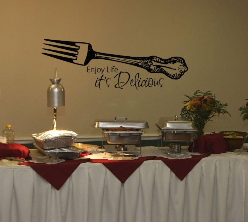 Vinilo para todos los restaurantes for Decoracion de pared para restaurante