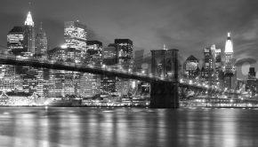 Vinilo adhesivo con la imagen del Puente de Brooklyn, lo último en tendencias de decoración.