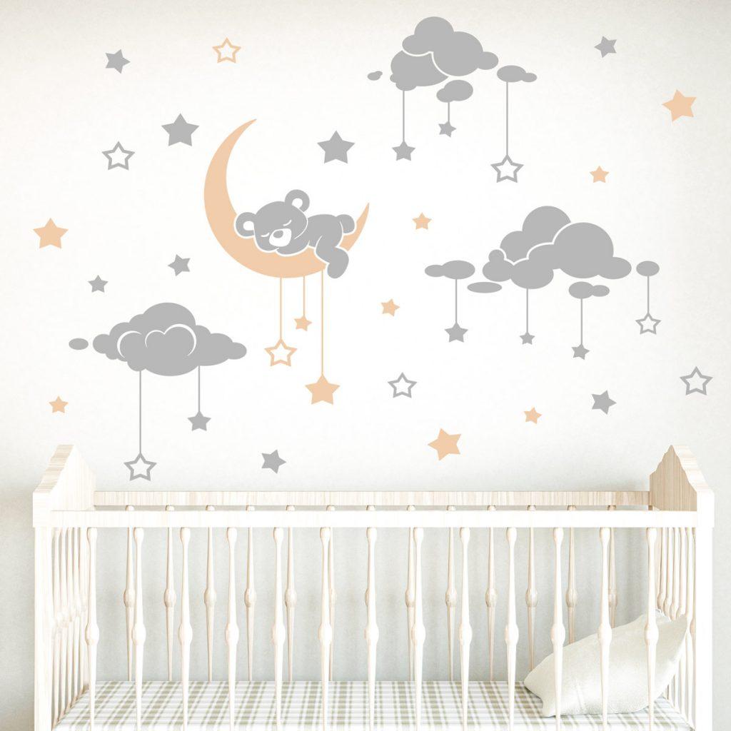Ideas de decoraci n de habitaci n infantil - Estrellas decoracion infantil ...