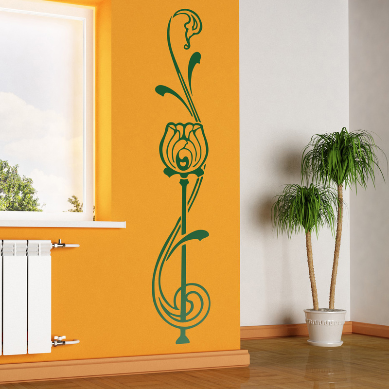 Gu a para decorar un sal n con vinilos decorativos - Vinilos decorativos para salon ...
