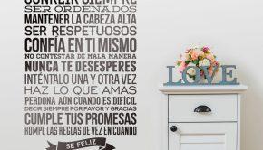 vinilos-decorativos-reglas-de-la-casa
