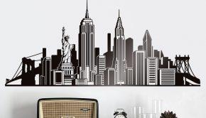 vinilos-decorativos-skyline-iconos-nyc
