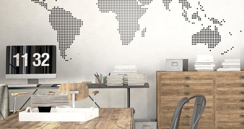 10 ideas para decorar una oficina for Ideas oficina