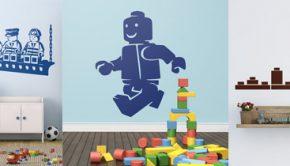 Vinilos pared Lego