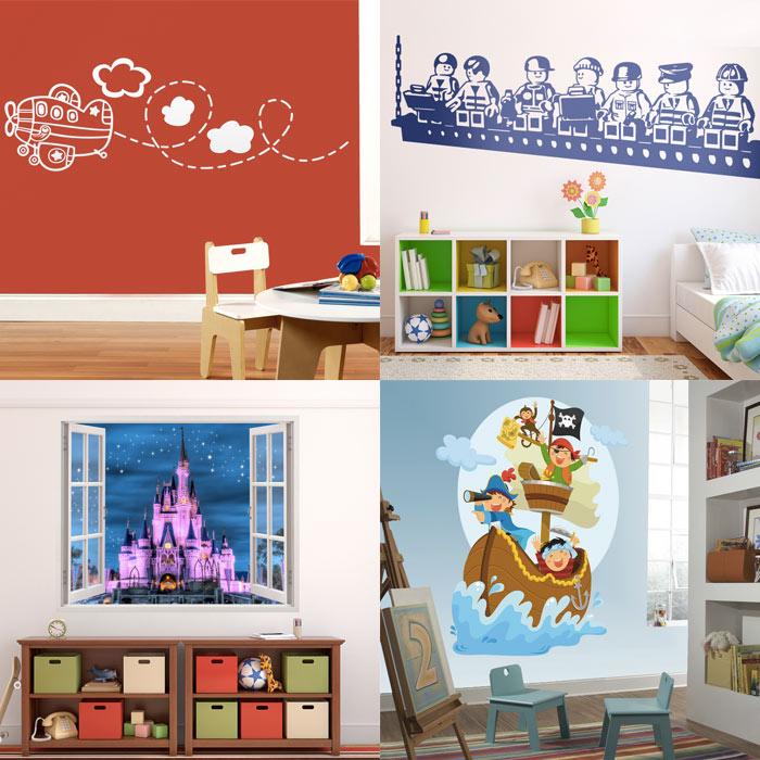 Decorar la habitaci n del beb con vinilo blog teleadhesivo for Habitacion bebe con vinilos