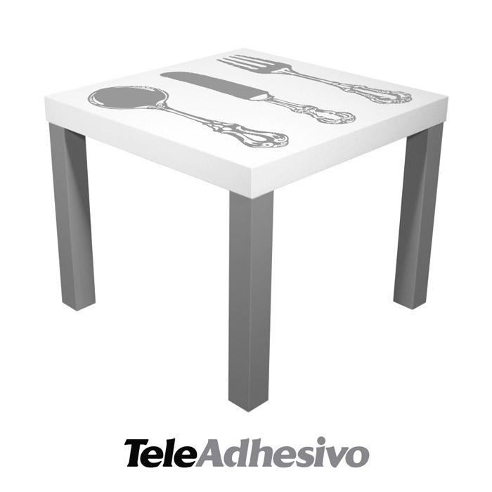Decora tu mesas lack de ikea con vinilo adhesivo blog teleadhesivo - Mesa lack ikea medidas ...