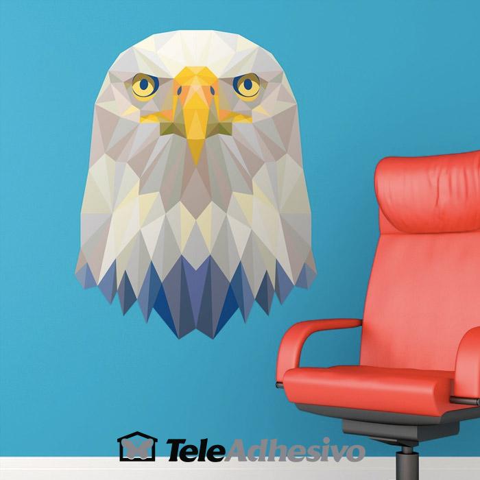 Vinilo origami águila