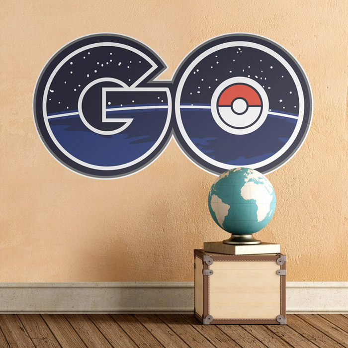 Vinilo Pokemon Go