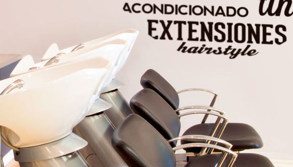 Ideas para decorar una peluquer a blog teleadhesivo - Ideas para decorar una peluqueria ...