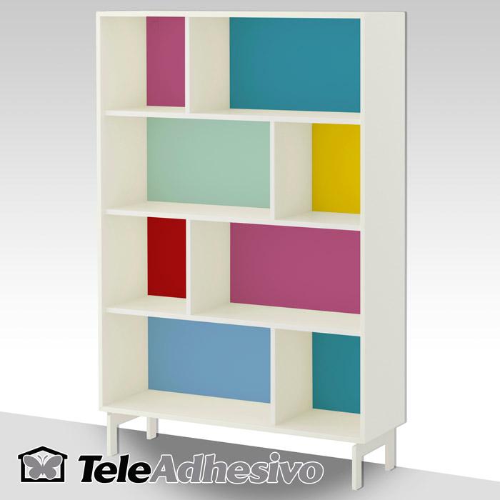 Personalizar estanter a valje de ikea blog teleadhesivo for Estanterias estrechas ikea