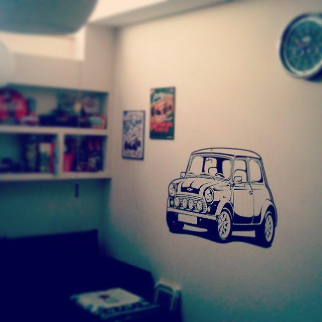 Vinilo Mini coche