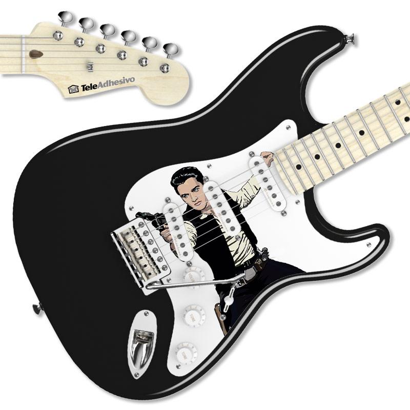 Vinilo decorativo de Elvis - Han Solo para Stratocaster