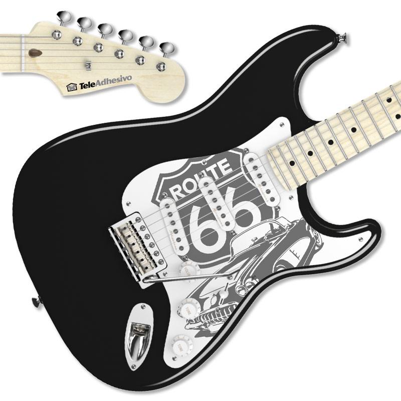 Pegatina Stratocaster Ruta 66