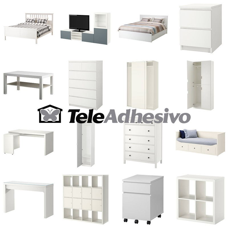 Decorar muebles de ikea amazing decoracion recibidores for Muebles blancos ikea