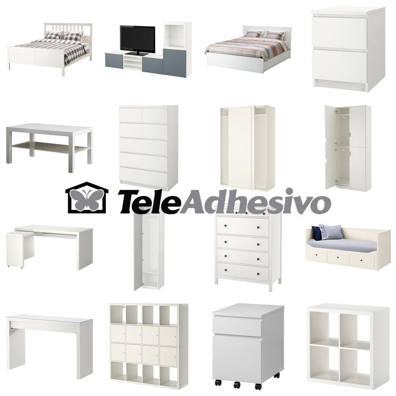 Muebles de ikea para personalizar blog teleadhesivo for Pegatinas de pared ikea